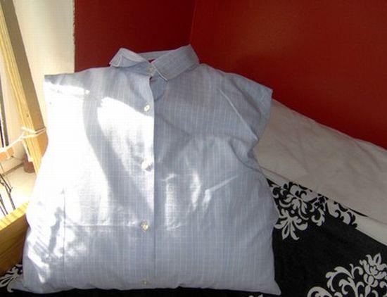 shirt cushion