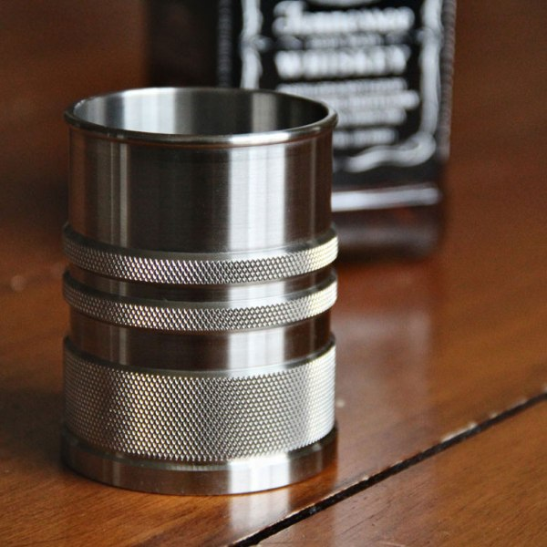 ShotShell XL: Stunning stainless Whisky glass