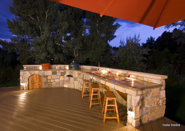 Simple tips for an outdoor kitchen