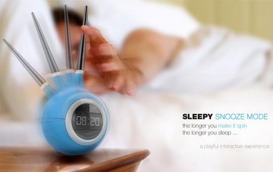 sleepy snooze mode alarm clock 1