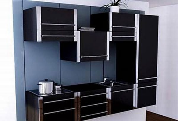 Sliding Kitchen Cabinet