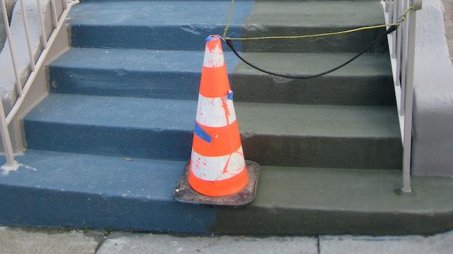 Slip proof stairs