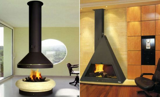 smart fireplaces from kamin line