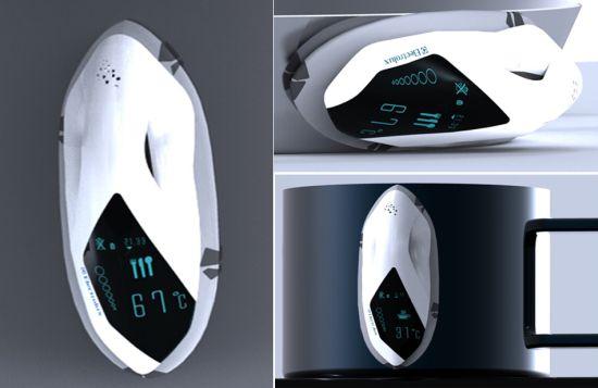 snail heater concept