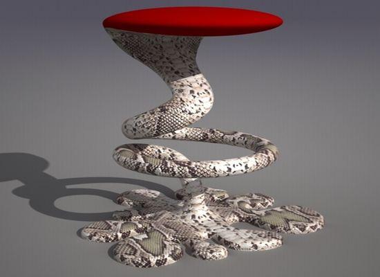snake bar stool 1