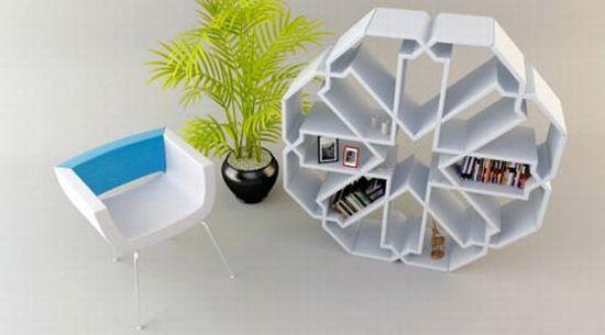 snowflake bookcase2 F5SOX 5965