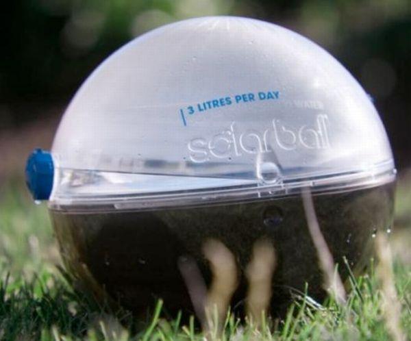 solar ball side