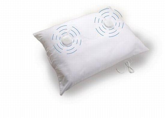 sound oasis sleep therapy pillow