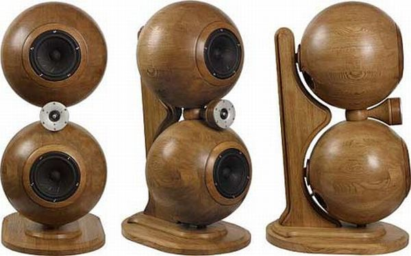 Sound e-Motion M100-20 BFs spherical speakers