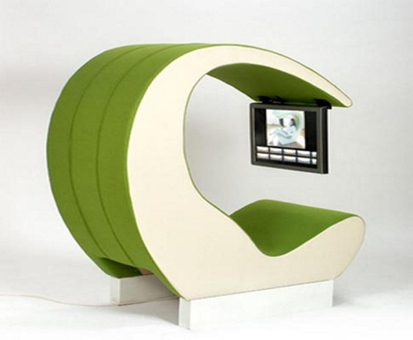 Ultra Geeky Home Amazing Space Chair By Johan Berhin