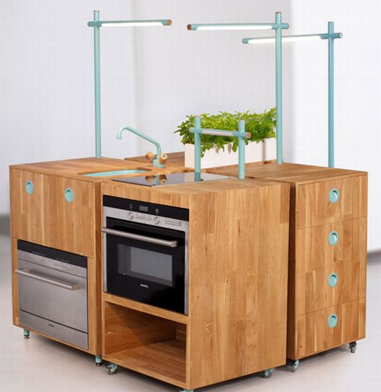 space saving kitchen system 1