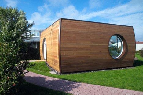 Space-Saving Pod Home Design