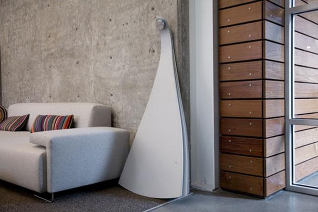 Space saving room divider