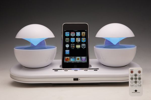 10 cool and innovative docks to charge your iphone ipod hometone. Black Bedroom Furniture Sets. Home Design Ideas