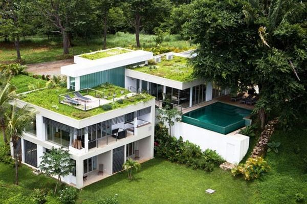 Spectacular Vacation Home with Green Roof