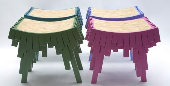 square chair from leadcow