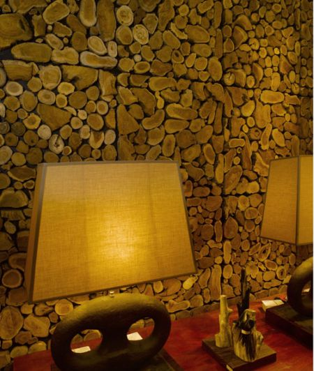 standing timber fZDgr 24431 Top Wood Wall Coverings designs 2015
