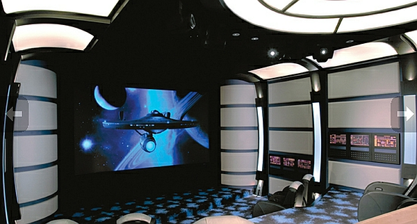 Star Trek Themed Evergreen Ultimate Home Theater Is Simply Too Geeky Hometone Home Automation And Smart Home Guide