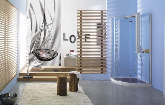 start shower enclosure