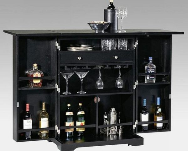 Steamer Trunk Indoor Home Bar