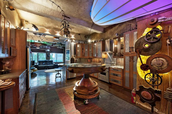 Steampunk Apartment
