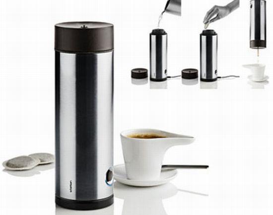 stelton simply espresso coffee machine