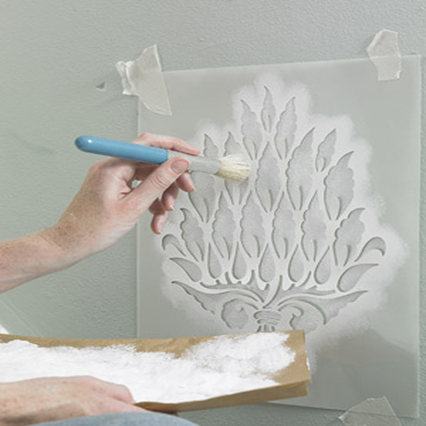 Gallery For Stencil Designs For Walls