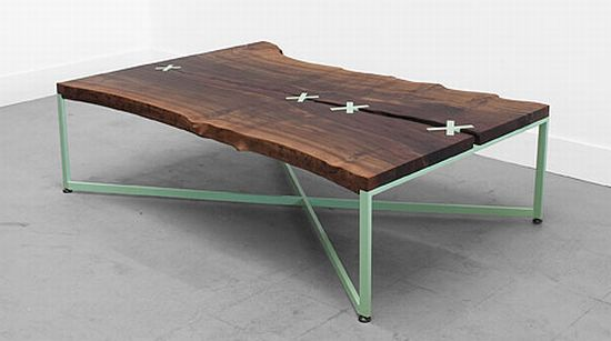 stitched table
