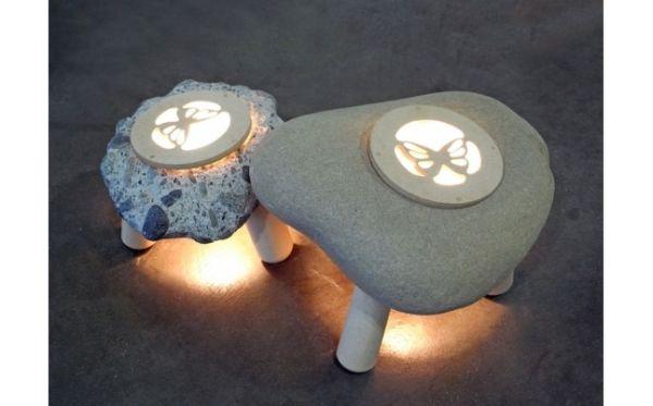 Stone Lamp by Shibaya