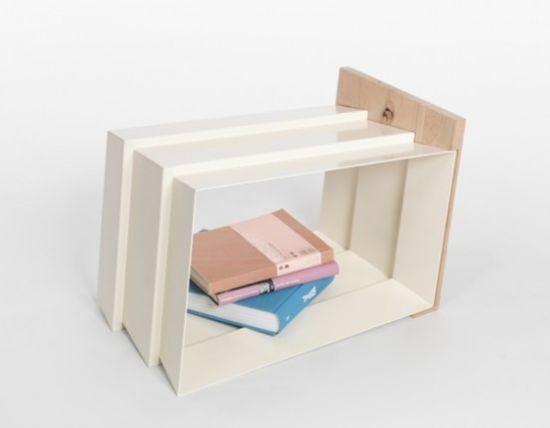 stool bookshelf 2