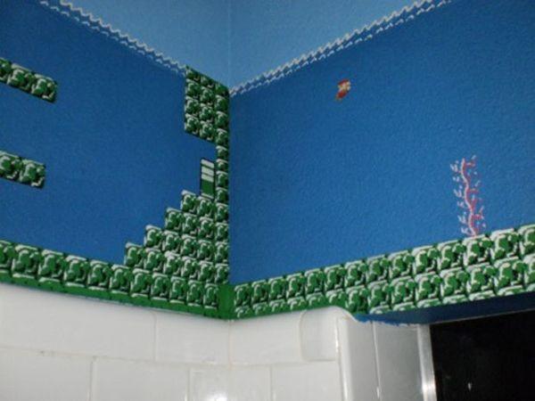 Super Mario Bros Bathroom