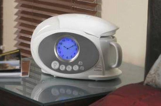 swans teasmade alarm clock1