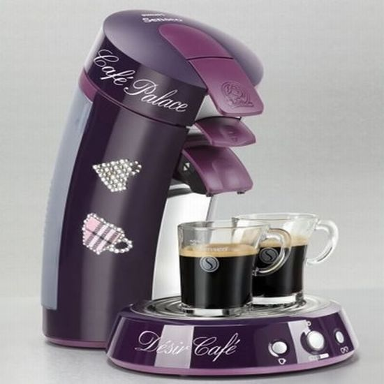 Limited Edition Swarovski studded Senseo coffee machine | Hometone