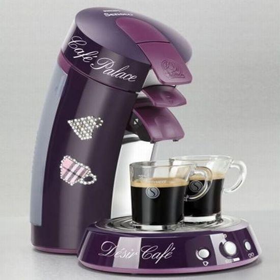 Limited Edition Swarovski Studded Senseo Coffee Machine Hometone
