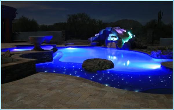 10 Lightings To Illuminate Your Swimming Pool Hometone