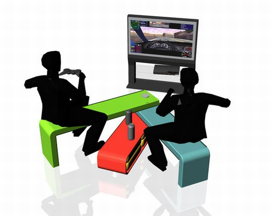 Swiss Chair Space Saving Modular Seating System Hometone