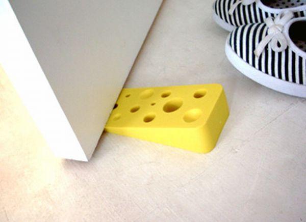 Swiss Cheese Doorstop
