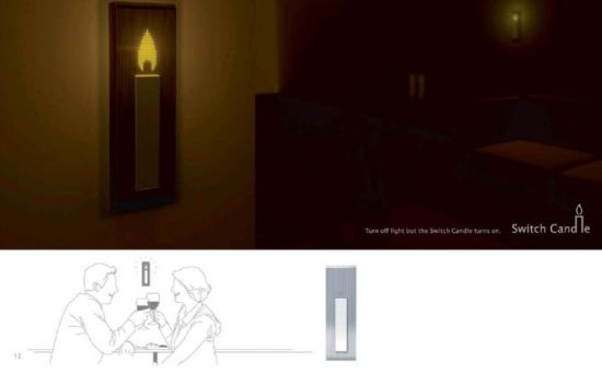 switch candle