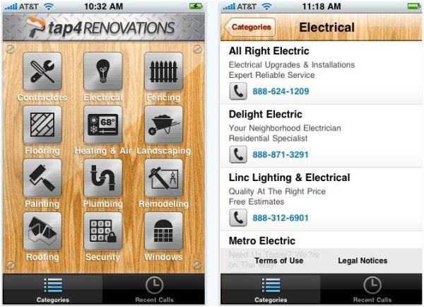 home improvement apps to help you do it yourself home improvement