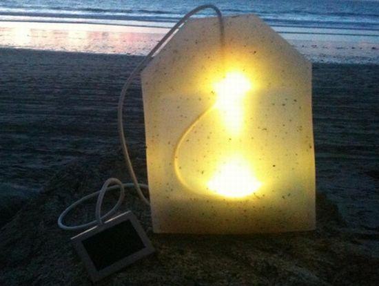 tea bag lamp