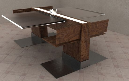 tecton dining table set2