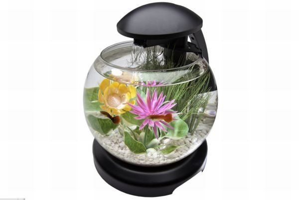 Tetra 1.8 Gallon Waterfall Globe Aquarium Kit
