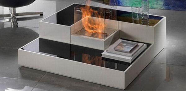 Tetris modular fireplace