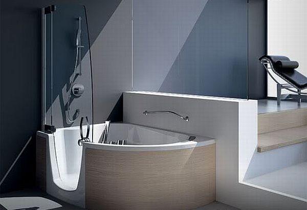 Elegant Corner Bathtubs Hometone