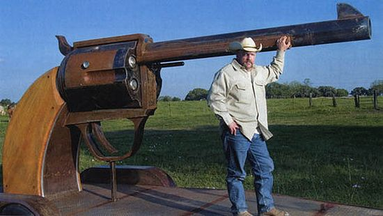 texas six shooter grill