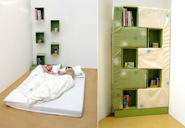 The Bookcase Bed