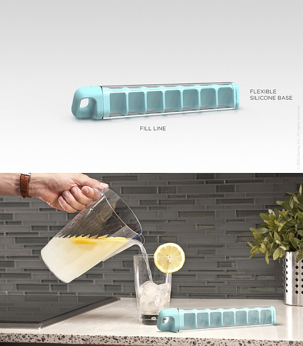 The Cube Tube reinvents ice trays