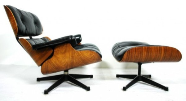 The Eames Lounge and Ottoman