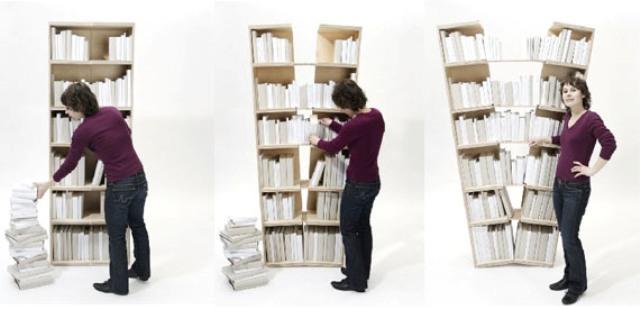 Unusually Brilliant Bookcase And Bookshelf Designs | Modern ...