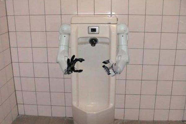 The Robo Urinal